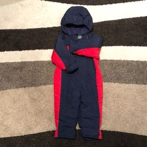 L.L. Bean infants snowsuit.